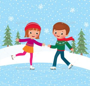 children-ice-skate